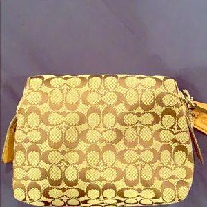 Coach small accessories/makeup bag